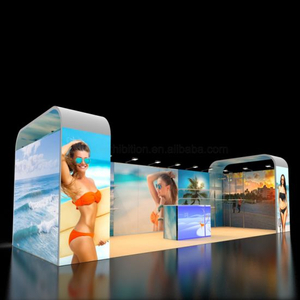 10X20 Modular Messe-Display Stand in Aluminium