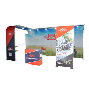 3X6m Custom Portable Advertising Display Stand für Standard Messestand