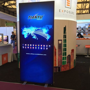 Stoff Backlit-LED Dynamic Light Box Frameless Advertising Display, Aluminium Light Board