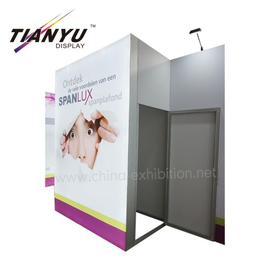 Future Trend 10x20ft Lighting Exhibition Booth mit Showcase