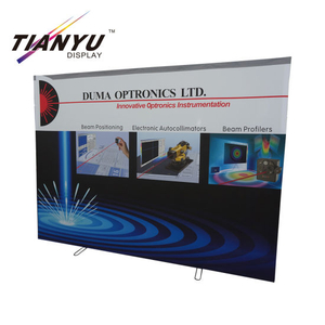 Farben Tragbare 3X3 Gerade Banner Pop Up Stand