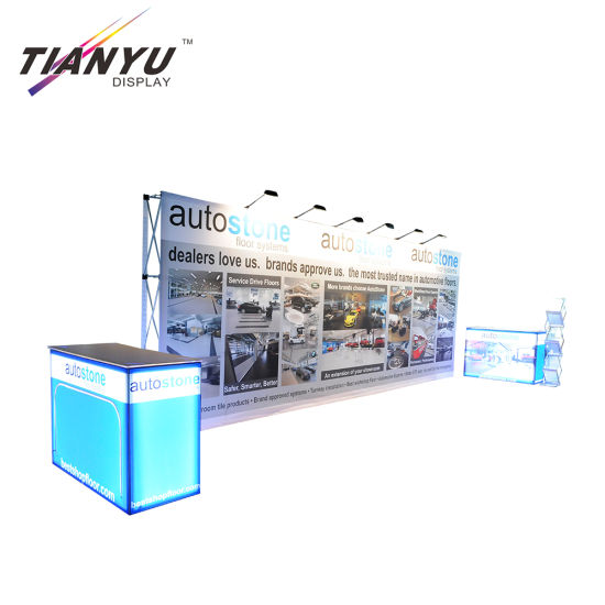 Outdoor-Fachmesse Systems Banner Magnetic Pop Up Display Stand
