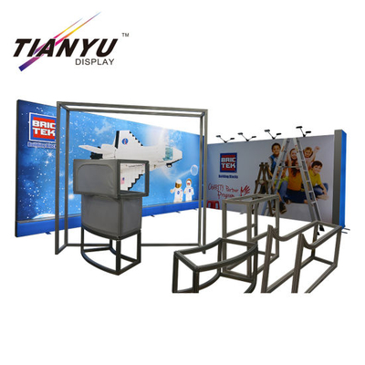 Aluminium tragbare Messe-Display Modularer Messestand 2X2