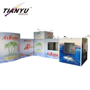 10FT Customized Portable Messestand für Messedisplay