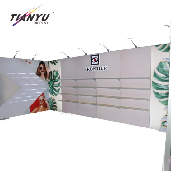 10X20FT 3X6m ModernC Portable America Kostenlos Hot Standard Stand Show Partition für Messestand