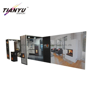 Hot Sale Advertising10X20 Custom Logo Fachmesse Display Tension Fabric Messestand für den Verkauf